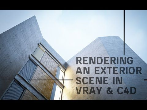 vray for c4d tutorial