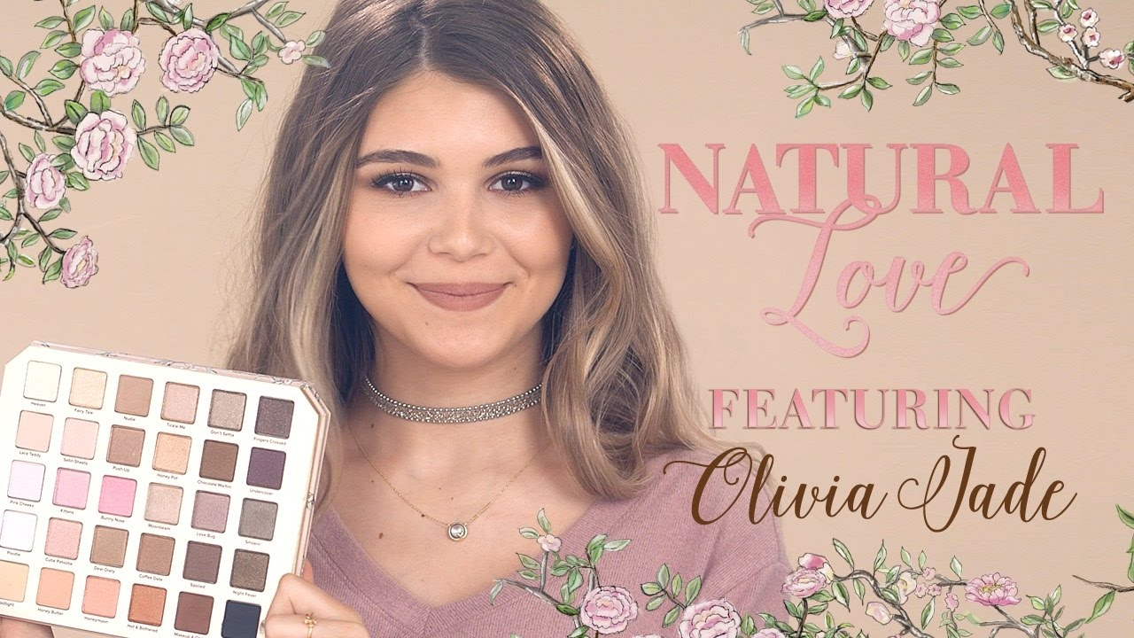 too faced natural eye palette makeup tutorial