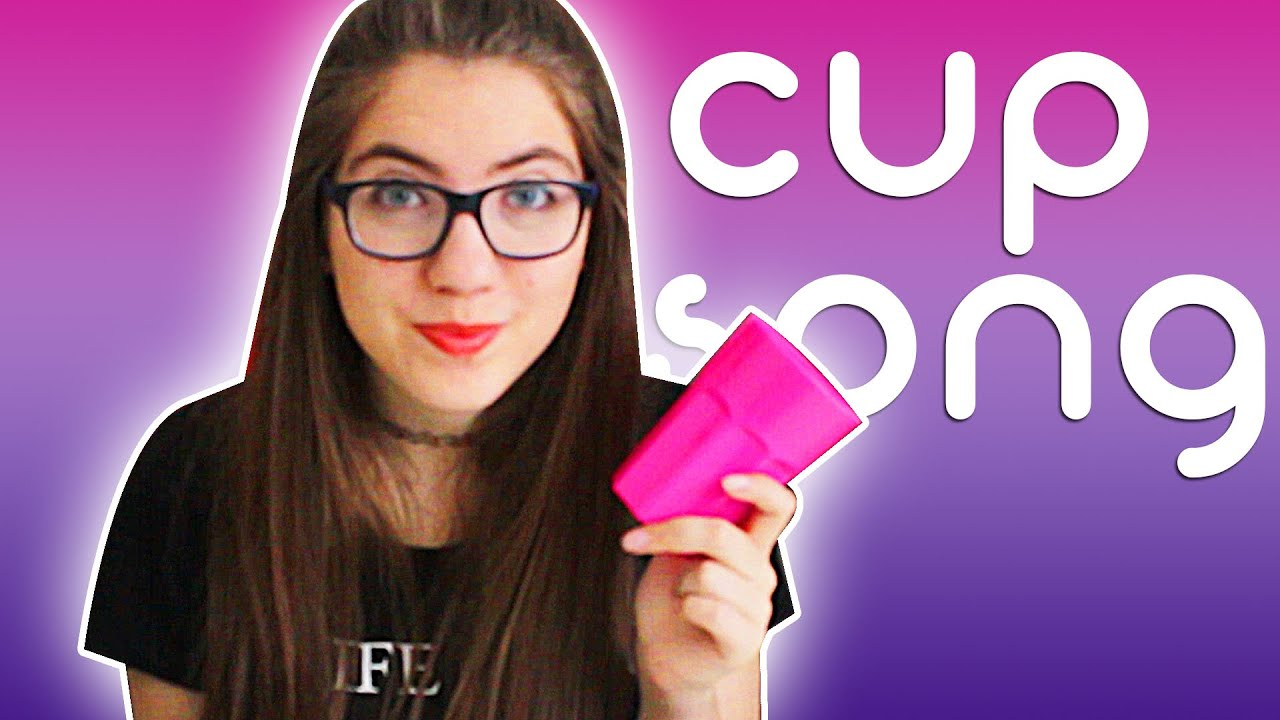 pitch perfect cups tutorial