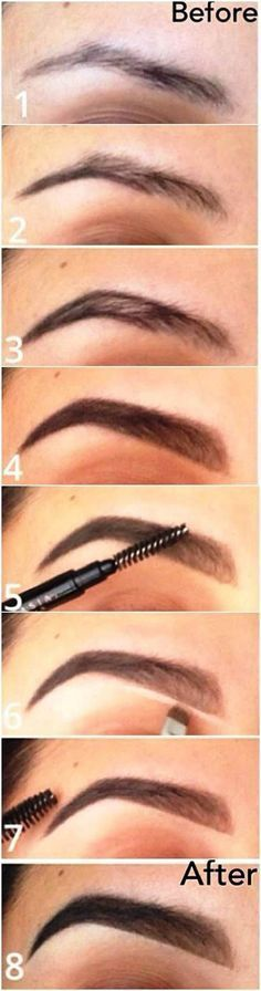 brow tutorial for beginners