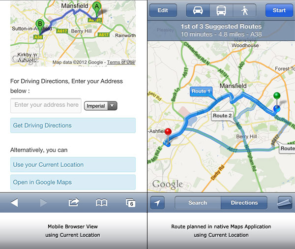 google directions api android tutorial