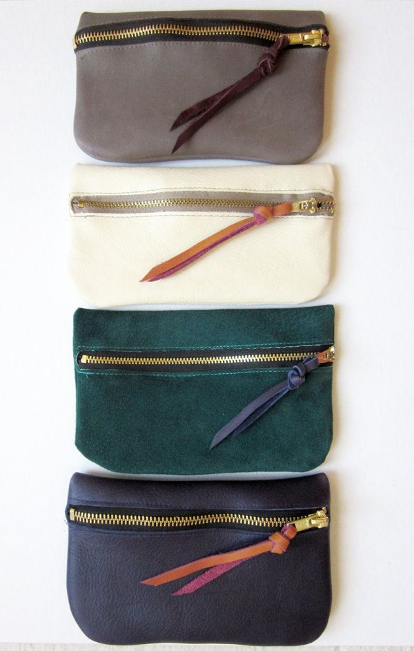 leather zipper pouch tutorial
